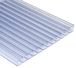 plaque polycarbonate transparente transparente 2 x 1 m brico d p t. Black Bedroom Furniture Sets. Home Design Ideas