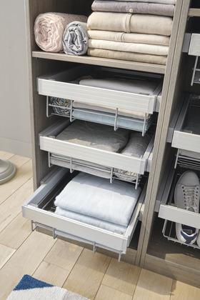 accessoires de penderie kit dressing composer brico. Black Bedroom Furniture Sets. Home Design Ideas