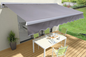 store banne manuel ou motoris store bane double pente brico d p t. Black Bedroom Furniture Sets. Home Design Ideas